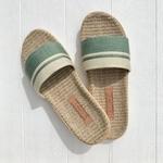 les mauricettes sandalettes dété kaki et beige