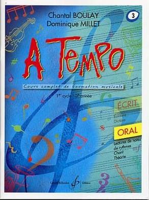 A TEMPO VOLUME 3 ORAL