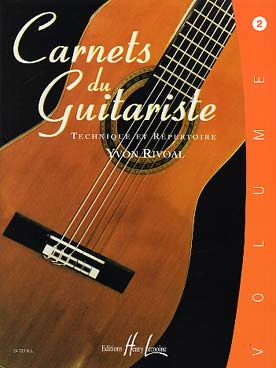 CARNETS DU GUITARISTE VOL 2