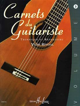 CARNETS DU GUITARISTE VOL 3