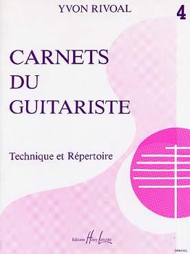 CARNETS DU GUITARISTE VOL 4