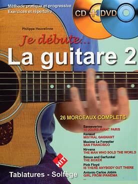 JE DEBUTE LA GUITARE VOL 2