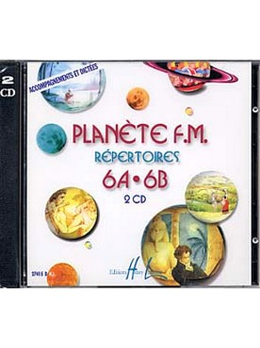 CD PLANETE FM VOLUME 6 AB ACCOMPAGNEMENT ET DICTEES