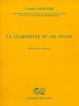 LA CLARINETTE ET LES STYLES