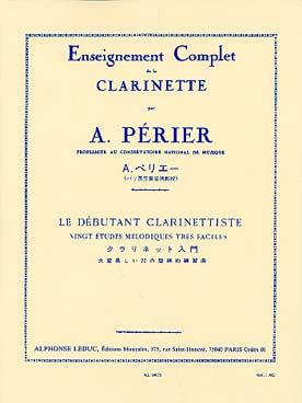 ENSEIGNEMENT COMPLET DE LA CLARINETTE