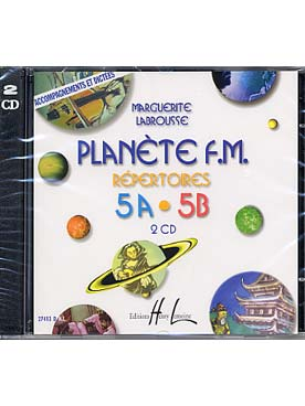 CD PLANETE FM 5 AB ACCOMPAGNEMENT ET DICTEES