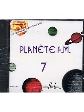 CD PLANETE FM VOLUME 7 ACCOMPAGNEMENT ET DICTEE