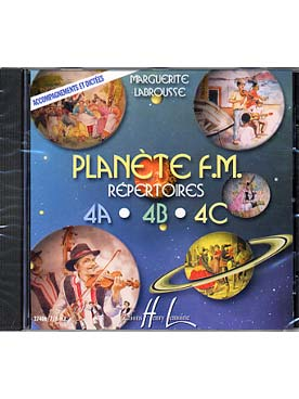 CD PLANETE FM VOLUME 4 ABC  ACCOMPAGNEMENT ET DICTEES