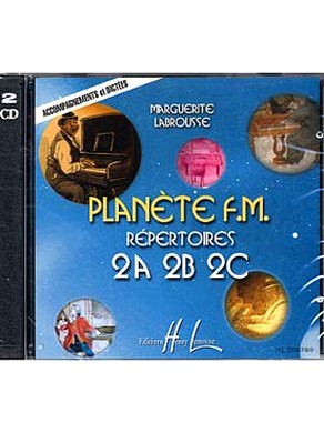 CD PLANETE FM VOLUME 2 ( ACCOMPAGNEMENT ET DICTEES)