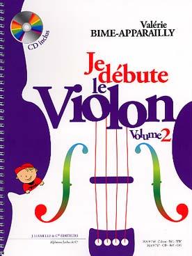 JE DEBUTE LE VIOLON VOL 2