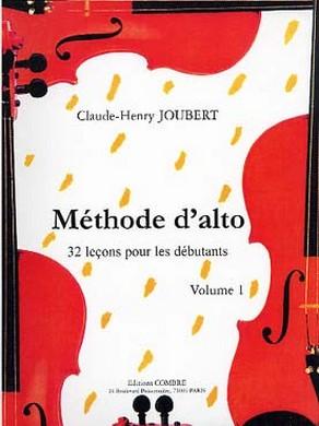 JOUBERT METHODE ALTO VOL 1