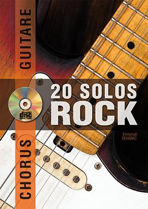 CHORUS GUITARE 20 SOLOS DE ROCK