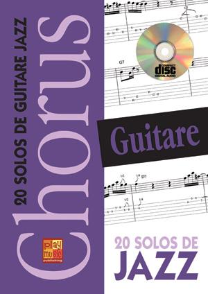 CHORUS GUITARE 20 SOLOS DE JAZZ
