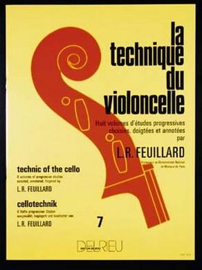 LA TECHNIQUE DU VIOLONCELLE VOL 7