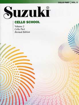 SUZUKI CELLO SCHOOL VOL 2
