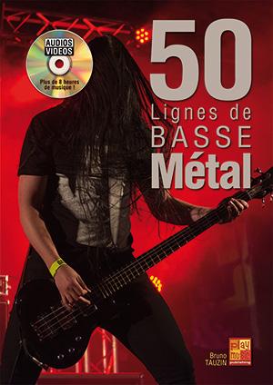50 LIGNES DE BASSE METAL