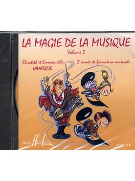 CD LA MAGIE DE LA MUSIQUE VOL 2