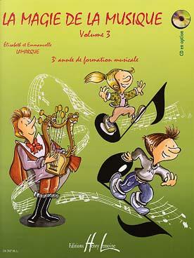 CD LA MAGIE DE LA MUSIQUE VOL 3
