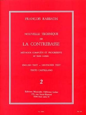 NOUVELLE TECHNIQUE DE LA CONTREBASSE VOL 2