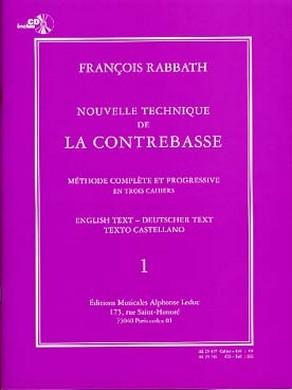 NOUVELLE TECHNIQUE DE LA CONTREBASSE VOL 1