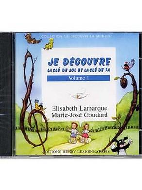 CD JE DECOUVRE LA CLE DE SOL-FA VOL 1