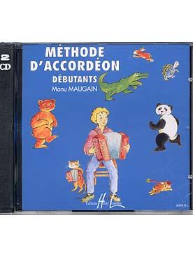 CD MAUGAIN METHODE D\'ACCORDEON VOL 1