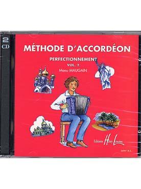 CD MAUGAIN METHODE D\'ACCORDEON VOL 2