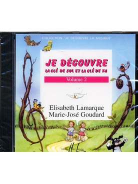 CD JE DECOUVRE LA CLE DE SOL-FA VOL 2