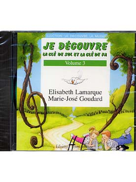 CD JE DECOUVRE LA CLE DE SOL-FA VOL 3