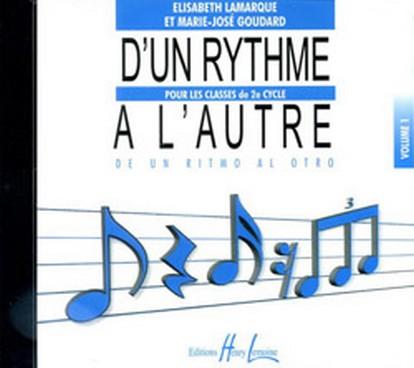 CD D\'UN RYTHME A L\'AUTRE VOL 1