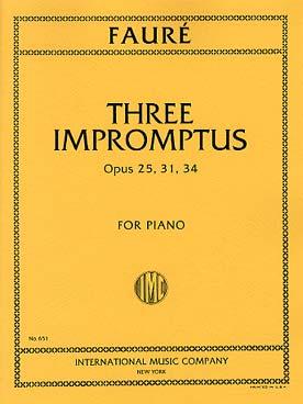 3 IMPROMPTUS