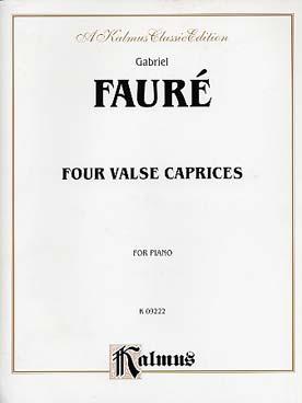 4 VALSES CAPRICES