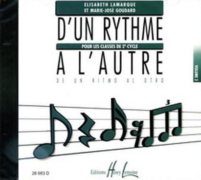 CD D\'UN RYTHME A L\'AUTRE VOL 2