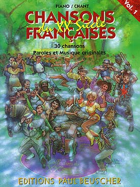 CHANSONS FRANCAISES DU 20ème SIECLE VOL 1