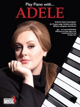ADELE PLAY PIANO