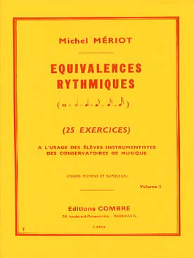 EQUIVALENCES RYTHMIQUES VOL 1