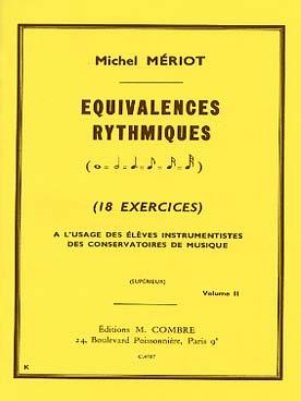 EQUIVALENCES RYTHMIQUES VOL 2