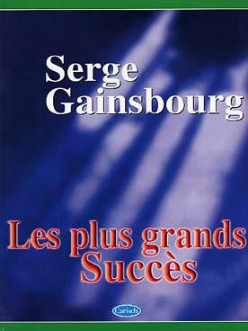 GAINSBOURG LES PLUS GRANDS SUCCES