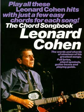 COHEN CHORD SONGBOOK