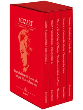 MOZART OEUVRES COMPLETES