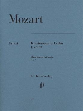 MOZART SONATE K 279