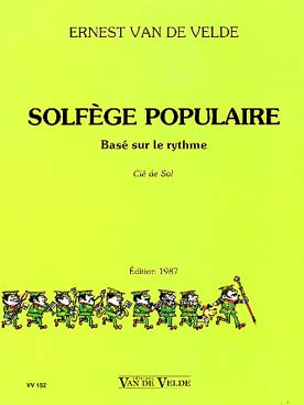 SOLFEGE POPULAIRE CLE DE SOL
