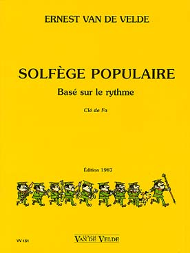 SOLFEGE POPULAIRE CLE DE FA