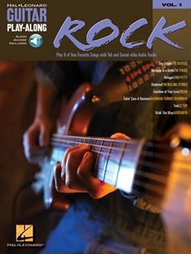 GUITAR PLAY ALONG VOL 1 ROCK
