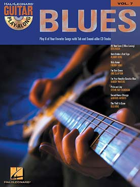 GUITAR PLAY ALONG VOL 7 BLUES