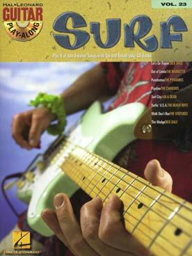 GUITAR PLAY ALONG VOL 23 SURF