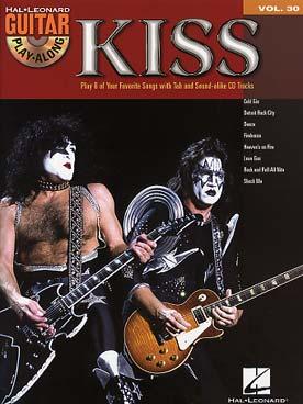 GUITAR PLAY ALONG VOL 30 KISS