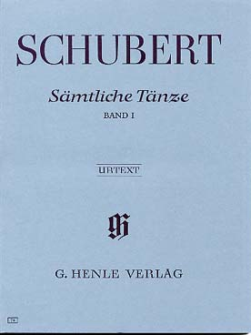SCHUBERT DANSES VOL 1
