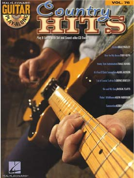 GUITAR PLAY ALONG VOL 76 COUNTRY