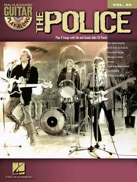 GUITAR PLAY ALONG VOL 85 THE POLICE
